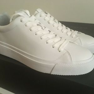 Rag & Bone RB1 Low White Sneakers 10.5 US